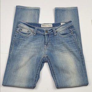 BKE Payton light wash skinny jeans 27x31 1/2